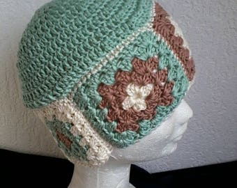 back of the granny's for this spring Hat