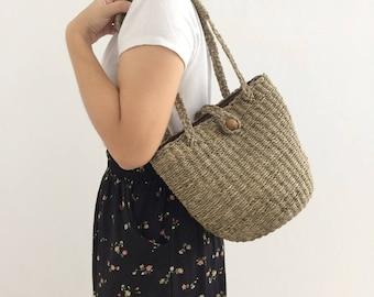 Straw Bag Handbags / wicker bag /Straw bag / Basket Bag / Maxi boho dress / Bohemian