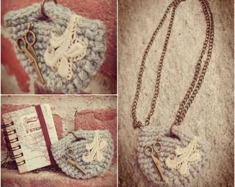 Necklace handbag-Purse necklace
