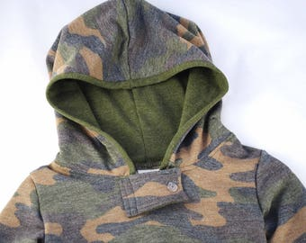 Sweatshirt/Baby boy clothes/Hoodie/Pullover/Camo/Hipster baby clothes/Gender neutral/Baby girl clothes/Baby sweater/Sweater/Toddler hoodie