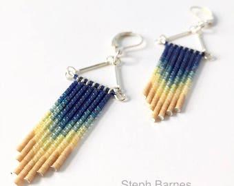 Ombré necklace or earrings
