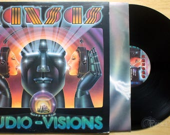 Kansas - Audio Visions (1980) Vinyl LP; Hold On