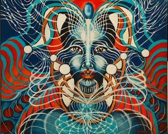 Galactic Ambassador-Nunki-limited edition tapestry print 90/70cm