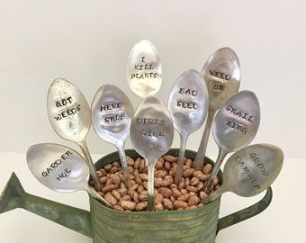 Funny Garden Markers