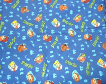 Rare Scooby Doo Cotton Fabric