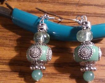 Handmade earrings by Jukeboxx Jewelry & Crochet