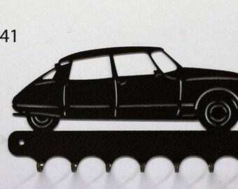 Hangs 26 cm pattern metal keys: Citroën DS