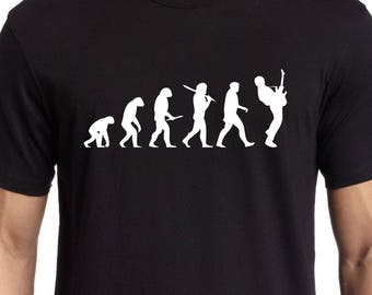 Guitar Evolution- Les Paul T-shirt