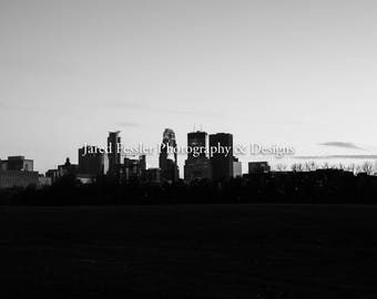 Skyline Black & White