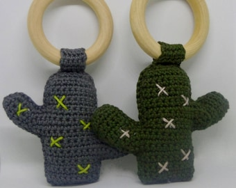 Handmade Cactus Rattle