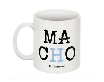 Macho mug dad man mug mug