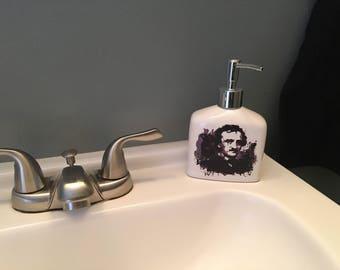 Poe soap dispenser