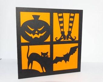Halloween - various card halloween themed card