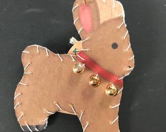 Reindeer Ornament 1 2017