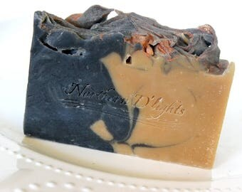 Beer Soap - Charcoal Soap - Soap for Men - Homemade Soap - Sandalwood Vanilla Soap - Shea Butter Soap - Fathers Day Gift - Gift for Him
