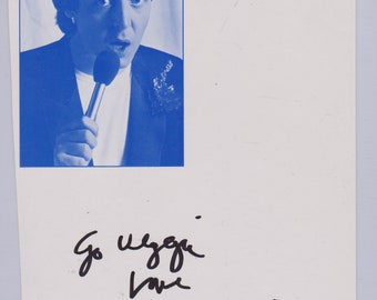 Linda McCartney Vintage Original Hand Signed Autographed Photoprint Of Paul McCartney