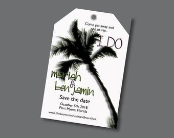 Save the Date - Luggage Tag