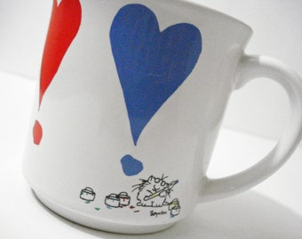 Sandra Boynton I Love You Heart Mug Vintage