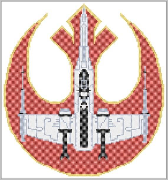Rebel Z 95 Headhunter: BOGO FREE! Star Wars Logo- Rebel Alliance Z-95 Headhunter