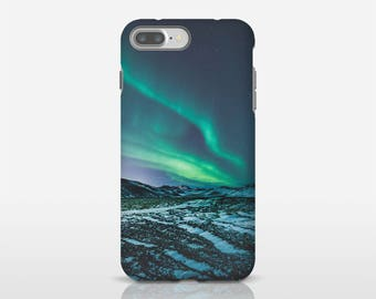 Aurora Borealis Phone Cases, Aurora Phone Case, Iceland Photo Art, Nature Phone Case, Galaxy S7 Edge Case, Phone Accessories