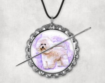 Needle Minders, Needle Nanny, Needle Keepers, Dogs, Dog, Bichonfrise, Cockerspaniel, Needleminders, Needlenannies, Needle Holders, Set 2