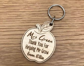 Teacher Gift, Teachers Apple, Teachers Thank you, Thank you gift