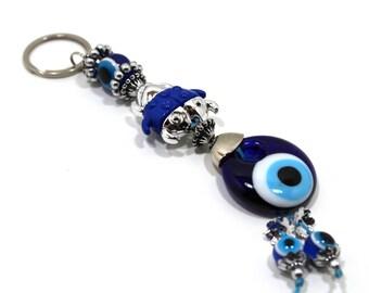 Evil Eye Keychain Beetles, Evil Eye, Evil Eye Key Chain, Hamsa Keychain,  Evil Eye Hamsa (Buy 1 Get 1 FREE & FREE SHIPPING!!!)