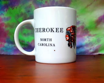 Cherokee North Carolina Mug