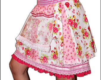 Step / pleated skirt | Costume rock | Costume replacement