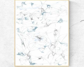 Abstract Art Downloadable Printable Wall Art Digital