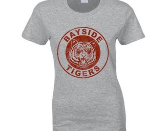 Bayside Tigers Saved By The Bell Fun Cool Kelly Kapowski Graphic Tv Show T Shirt