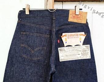 Vintage Levi's 501 Red Line W31 L36 Deadstock