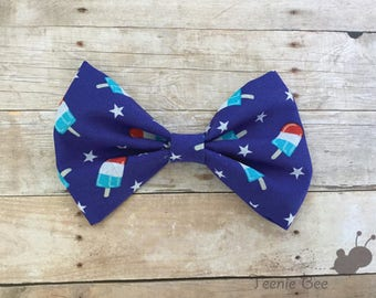 Patriotic bow - 4th of July Bow - Fourth of July Bow - Independence Day Bow
