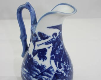 China Blue Fine Porcelain Pitcher