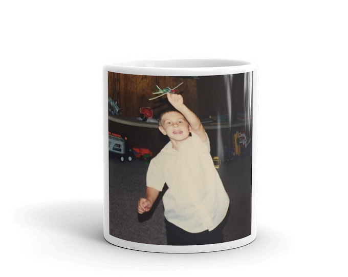 Custom Photo on Coffee Mug, Personalized Photo on Coffee Mug, Photo Mug, Custom Coffee Mug, White Ceramic Coffee Mug with Your Photo on it