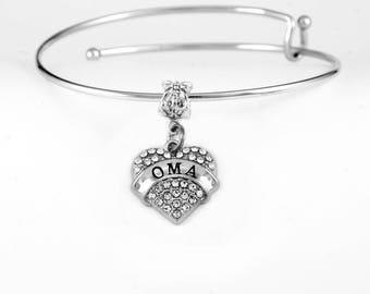 OMA bracelet I love Oma! she will love it. Omna Charm Bracelet Oma Jewelry