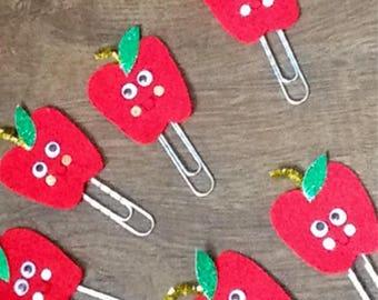 Anne apple paper clip.