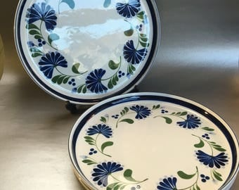 1 of 3 available Dansk Sage Song Blue Mid Century Dinner Plates