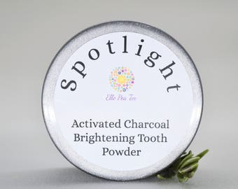 Activated charcoal toothpaste - Teeth Whitening Home  - Tooth powder -  Whitening toothpaste-Toothpaste - Peppermint oil - FREE SHIPPING