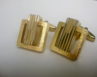 Org 70 he j. cuff links - elegant-gold