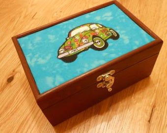 VW Beetle storage box/keepsake/trinket/jewellery/