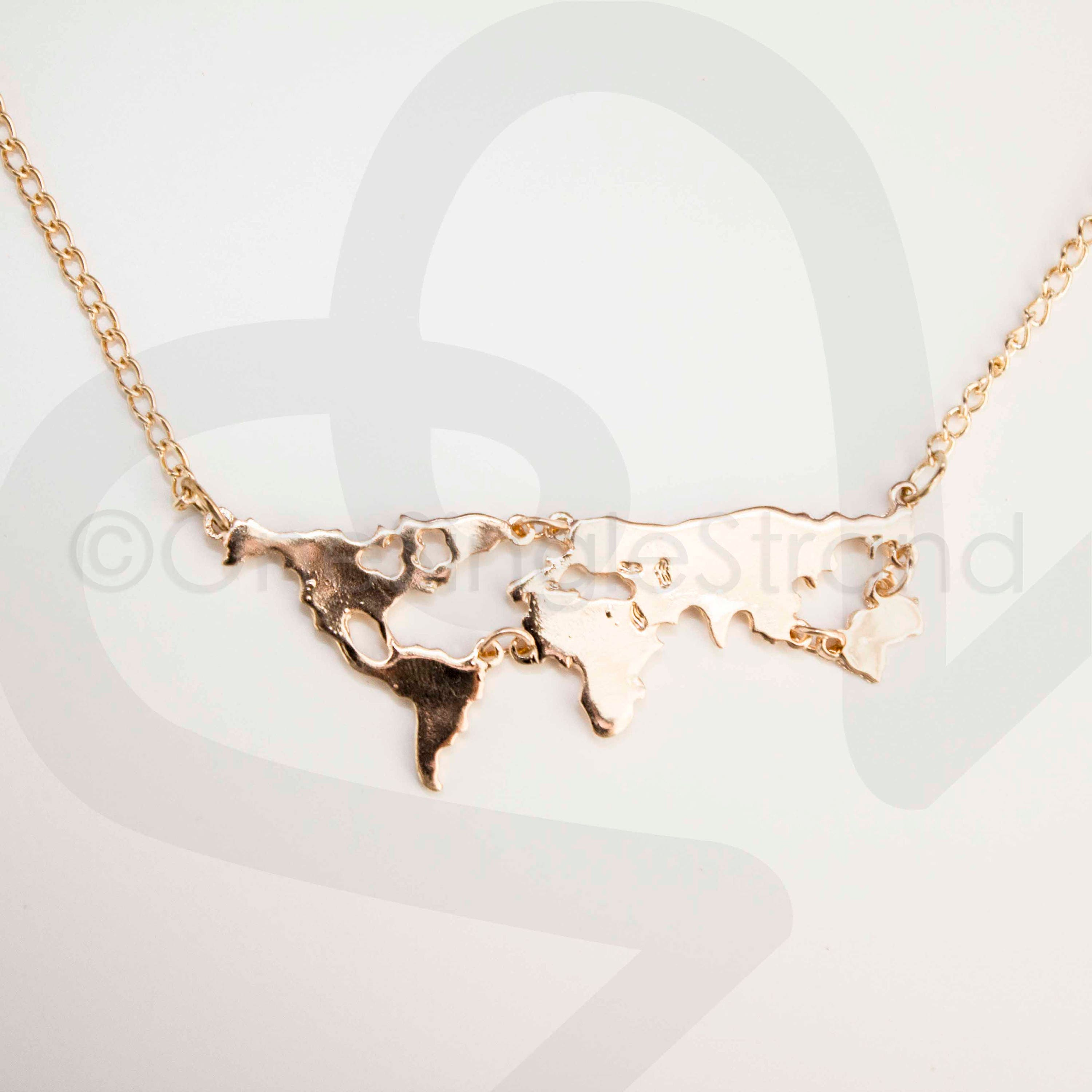 World map necklace gumiabroncs Images