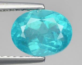 1.66 Cts Paraiba Blue Apatite Oval Fpd3