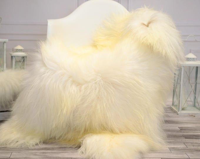 Icelandic Large Sheepskin   Real Sheepskin Rug   Ivory Sheepskin Rug   Fur Rug    Home decor #JANISL35