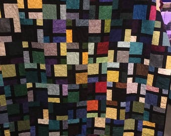 Dissapearing 4 Patch Quilt