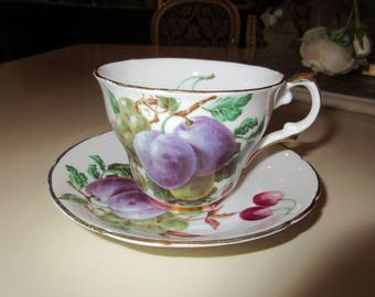 ENGLAND REGENCY TEACUP and Saucer Set