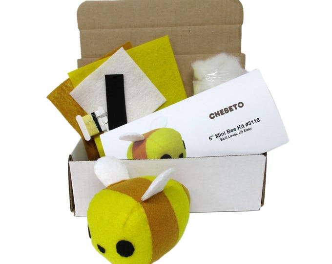 Mini Bumble Bee Sewing Kit