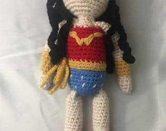 Wonder Woman inspired doll