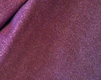 Cotton Fabric | Dappled Dusty Mauve Quilting Fabric | Country Chic