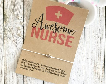 Nursing Student, Nursing Student Gift, Nurse Appreciation, Nurse Thank You, Nurse Bracelet, Nurse Gift, Nurse Jewelry, Nursing School Gift